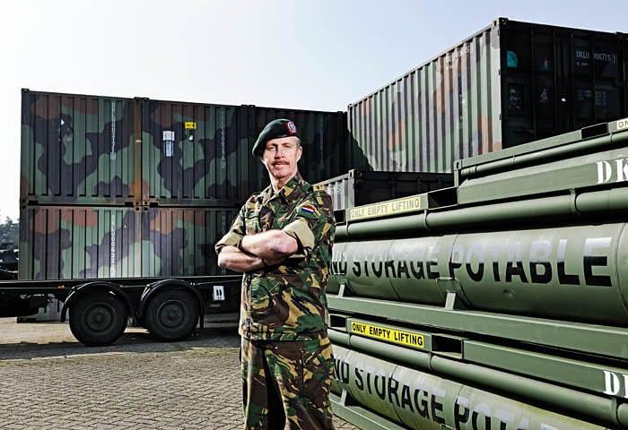 Brigadegeneraal Hans Damen Logistiek